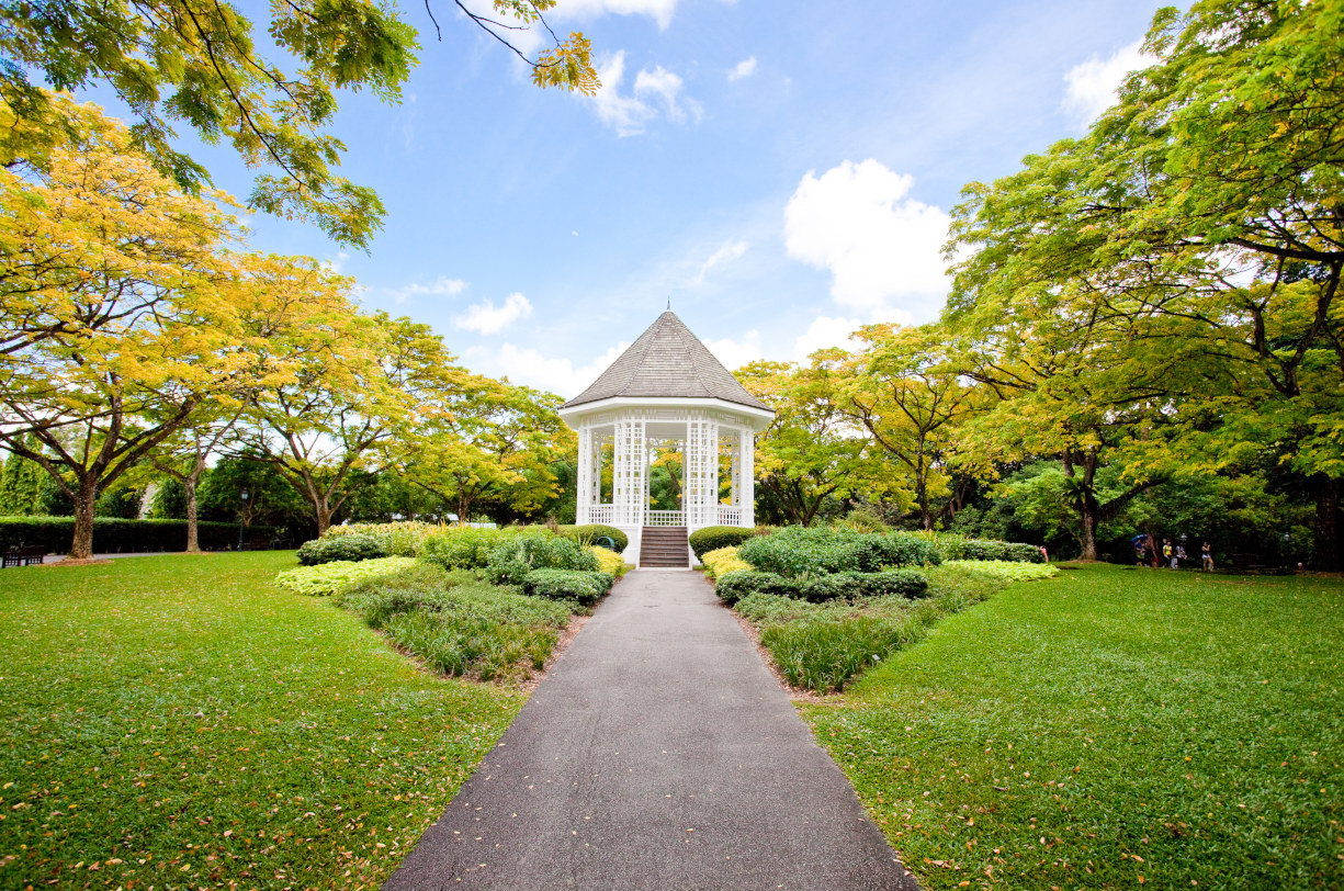 "Singapore Botanic Gardens near the Hyll Condo Location"" width="