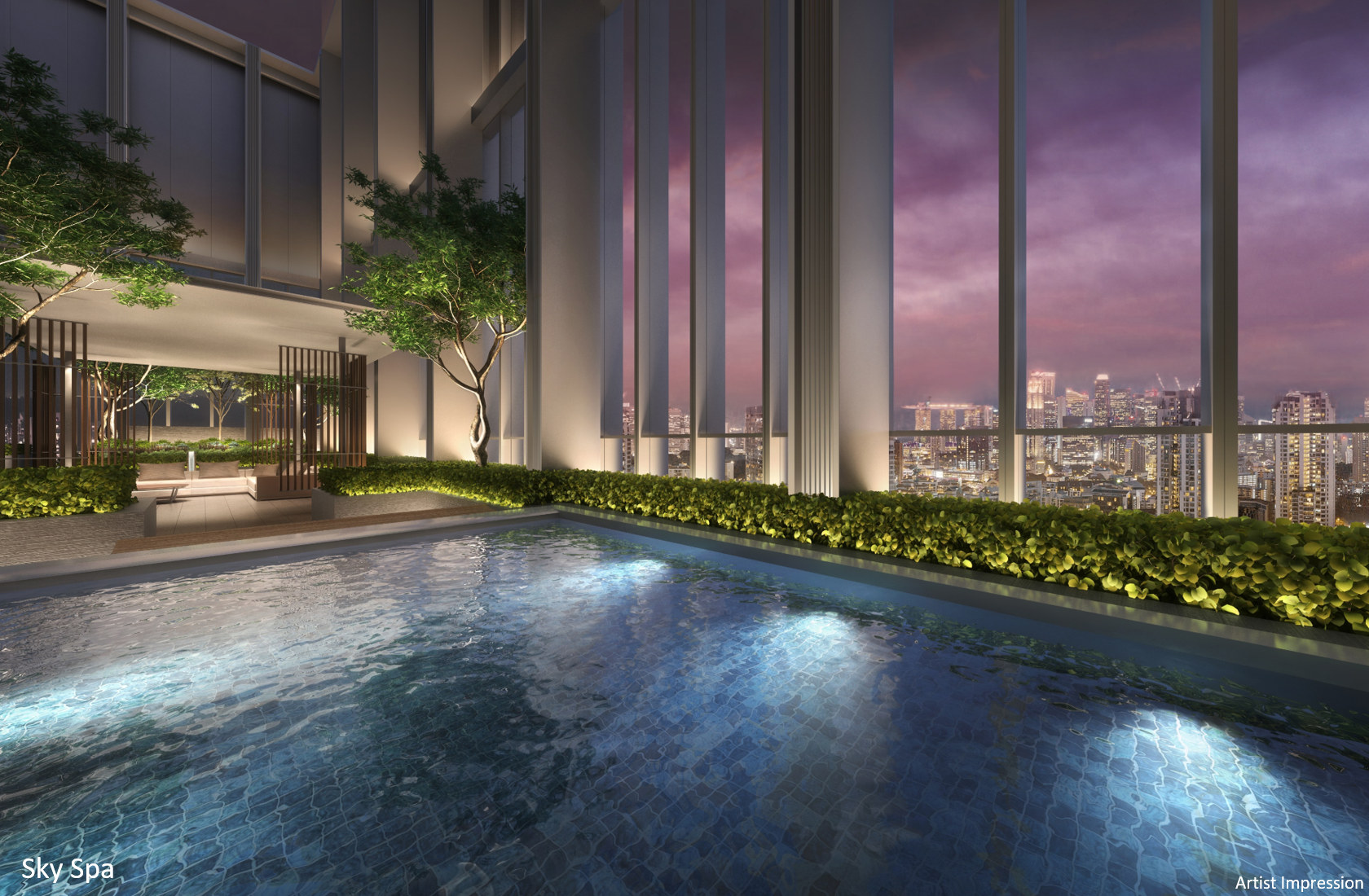 The Riviere Condominium Sky Spa View
