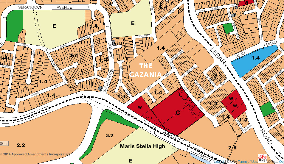 The Gazania Site Location Master Plan