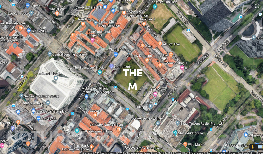 The M Location Site