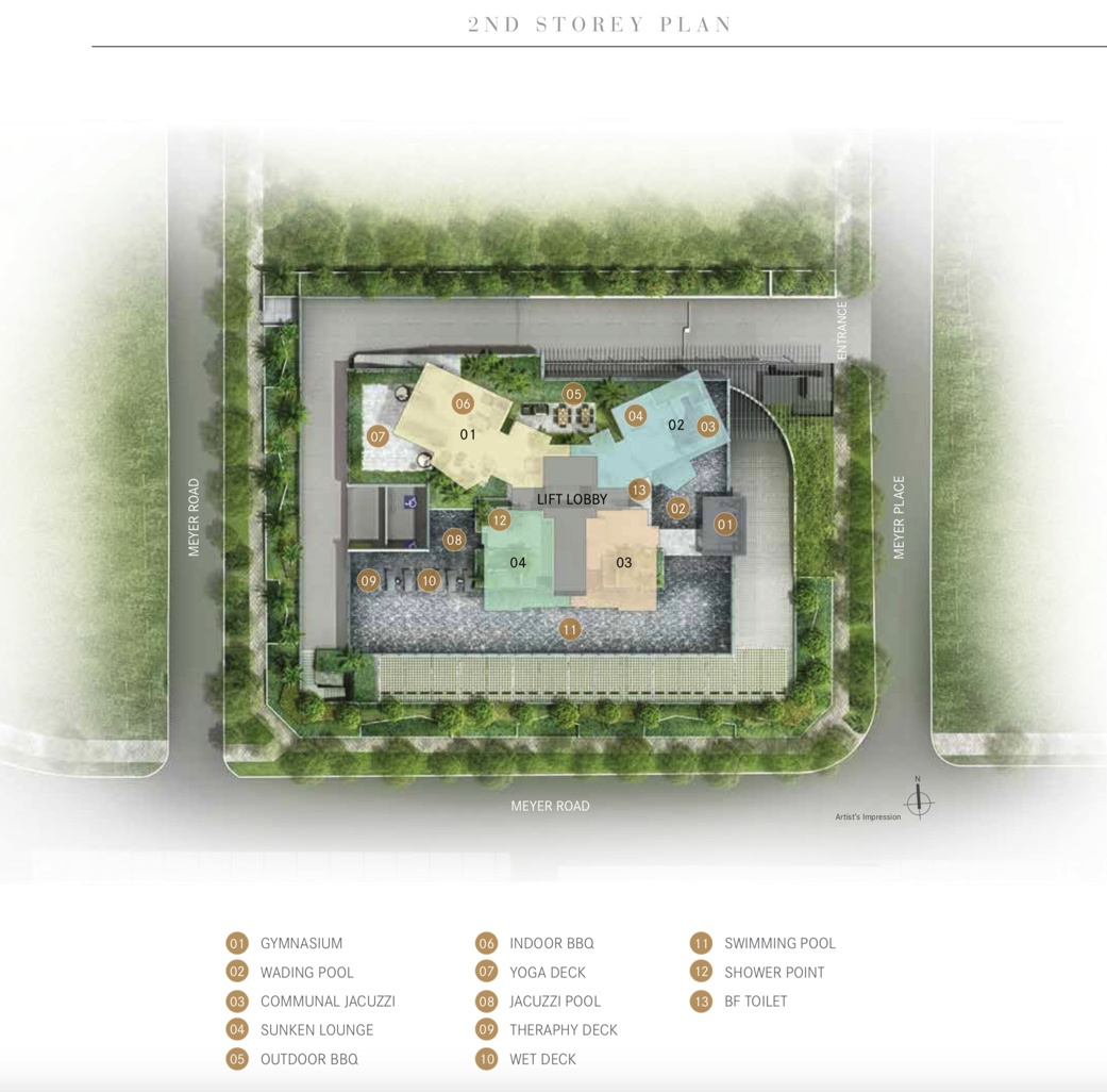 The One Meyer Site Plan