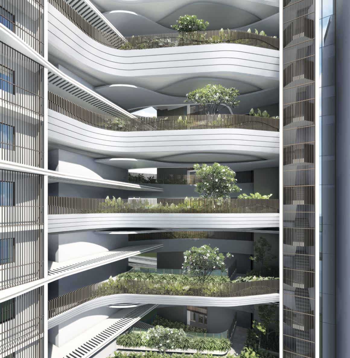 Artist's Impression . Coastline Residences Singapore