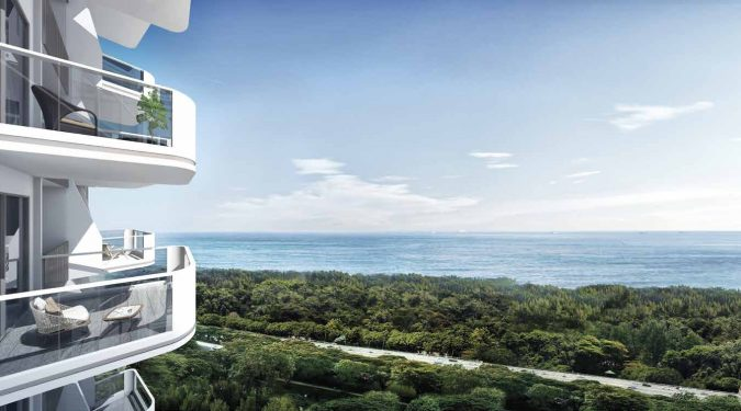 Artist's Impression . Coastline Residences Condo Sea Views