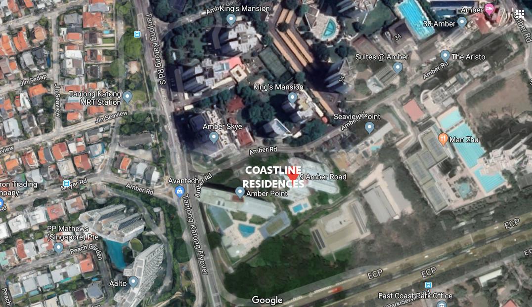 Coastline Residences Site Location . 9 Amber Road