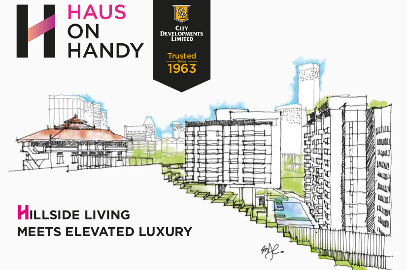Haus on Handy Site . From Handy Road to Mount Sophia