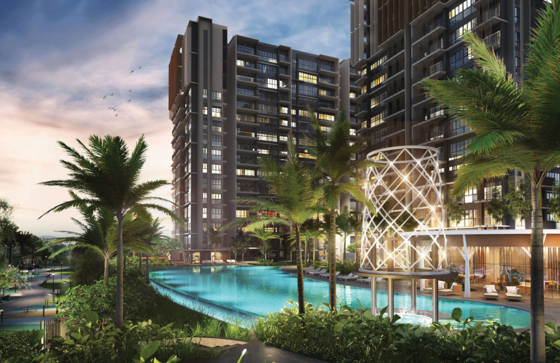 Parc Life by Keong Hong . Developer for The Antares Singapore