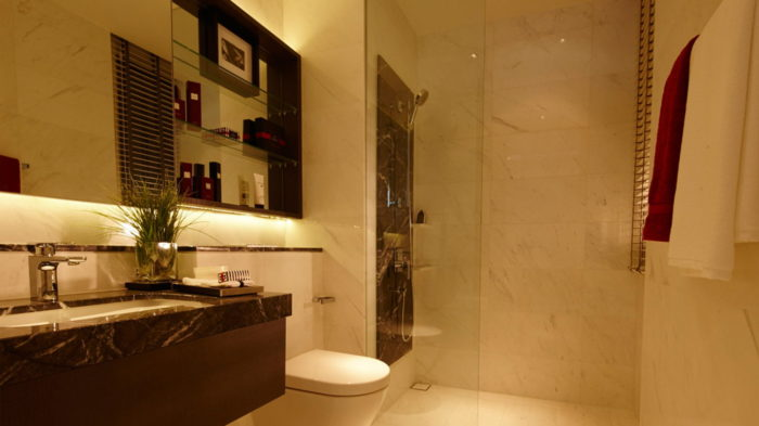 Marina One Condo Showflat 2 Bedroom Bathroom