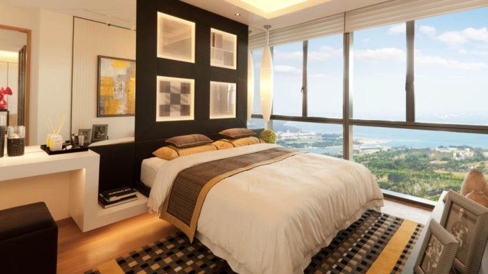 Marina One Condo Showflats 2BR Bedroom Master