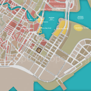 Marina One Residences F&B & Entertainment Outlets Map