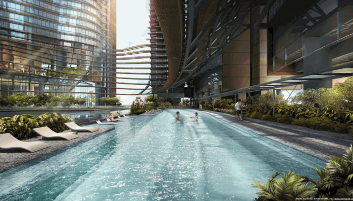 Marina One Residences Pool