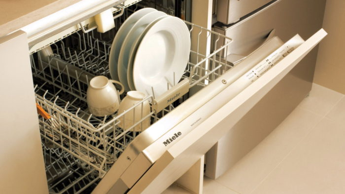 Marina One Residences Showflat Fittings Dishwasher