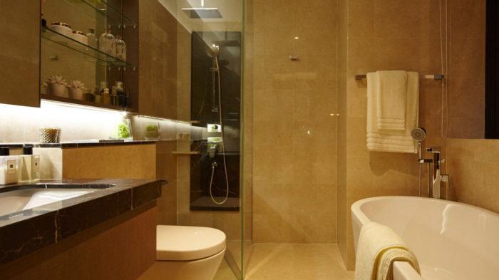 Marina One ShowSuite Photo 3 Bedroom Bathroom