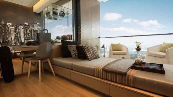 Marina One ShowSuites 3BR Bedroom