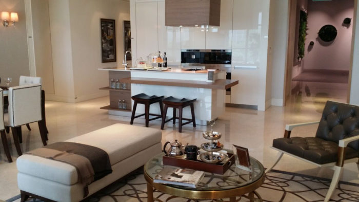 Marina One Showflat Photo 4 Bedroom Gourmet Servery Living