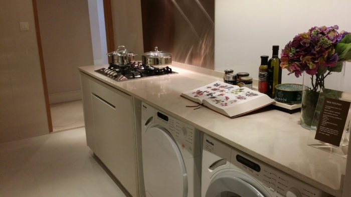 Marina One Singapore Showflat Kitchen Wet
