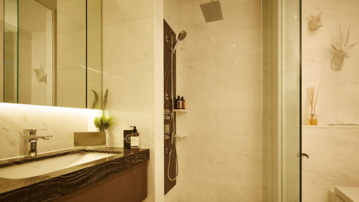 Marina One Singapore Showflat One Bedroom Bathroom