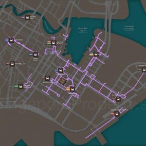 Marina One - Underground Pedestrian Network