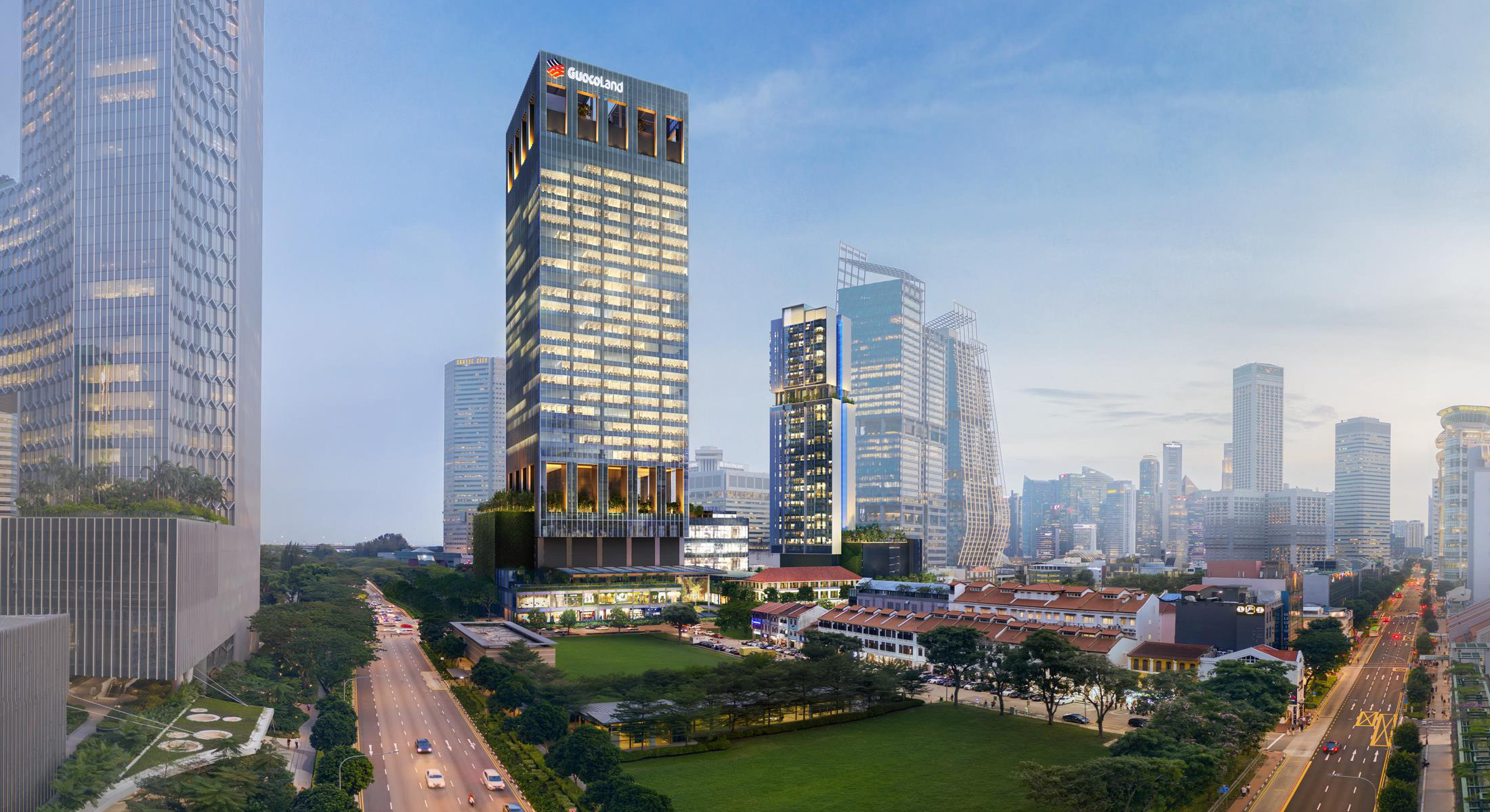 Artist's Impression . Guoco Midtown Singapore . Mixed Development
