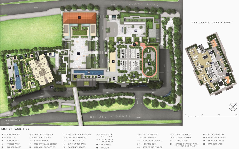 Draft Guoco Midtown Bay Site Plan