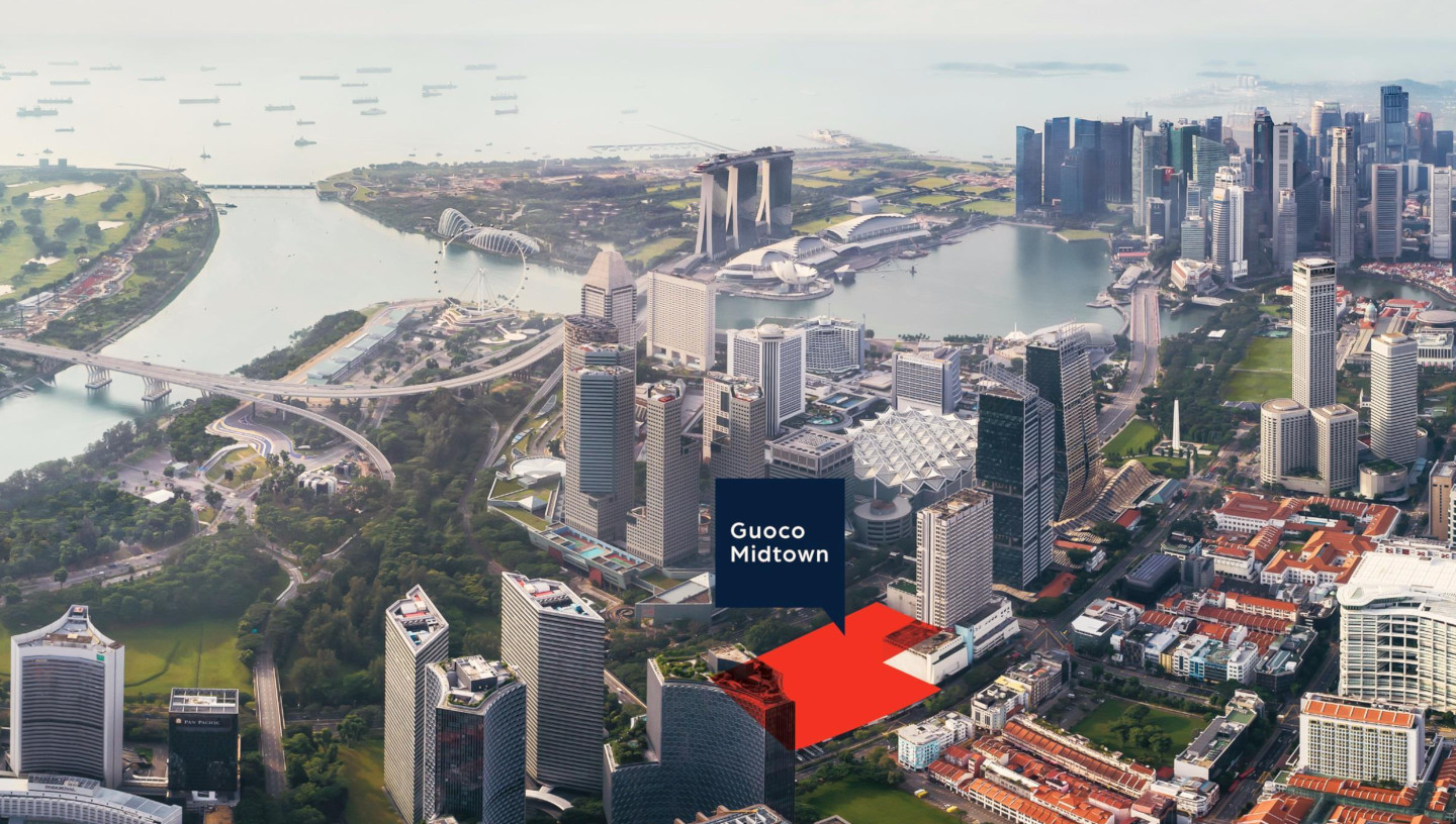 Guoco Midtown Site with Midtown Bay Singapore