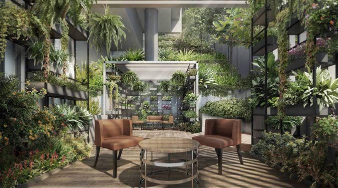 Haus on Handy Condo Garden