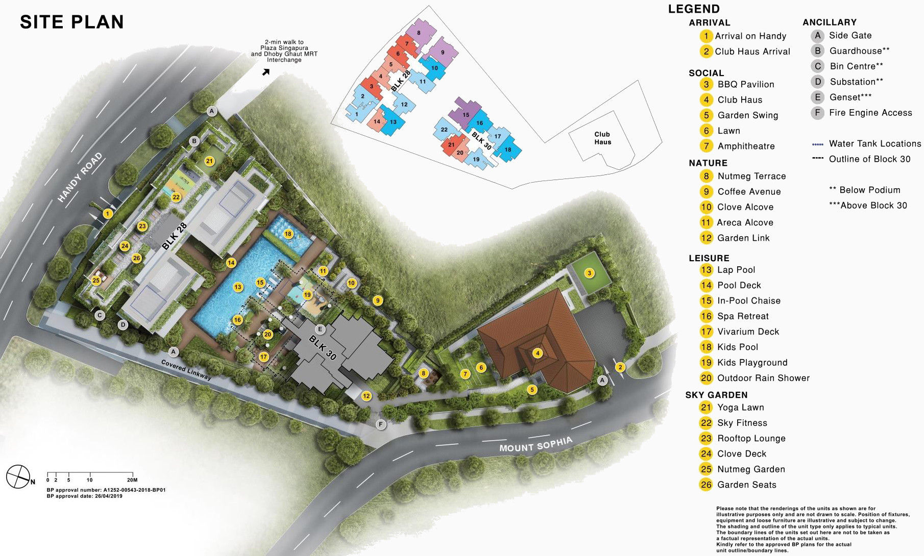 Haus on Handy Site Plan Layout