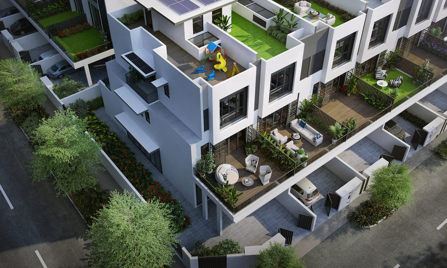 Artist's Impression . Luxus Hill Terrace Houses