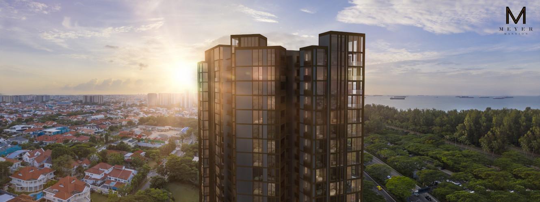 Meyer Mansion Singapore . Panoramic Views