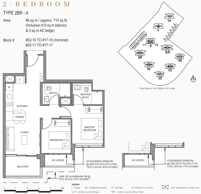 Parc Clematis Condo Floor Plans . 2 Bedroom Elegance Towers
