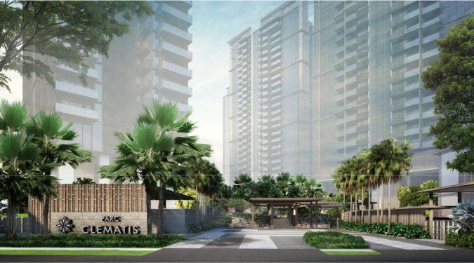 Parc Clematis Condominium Main Entrance