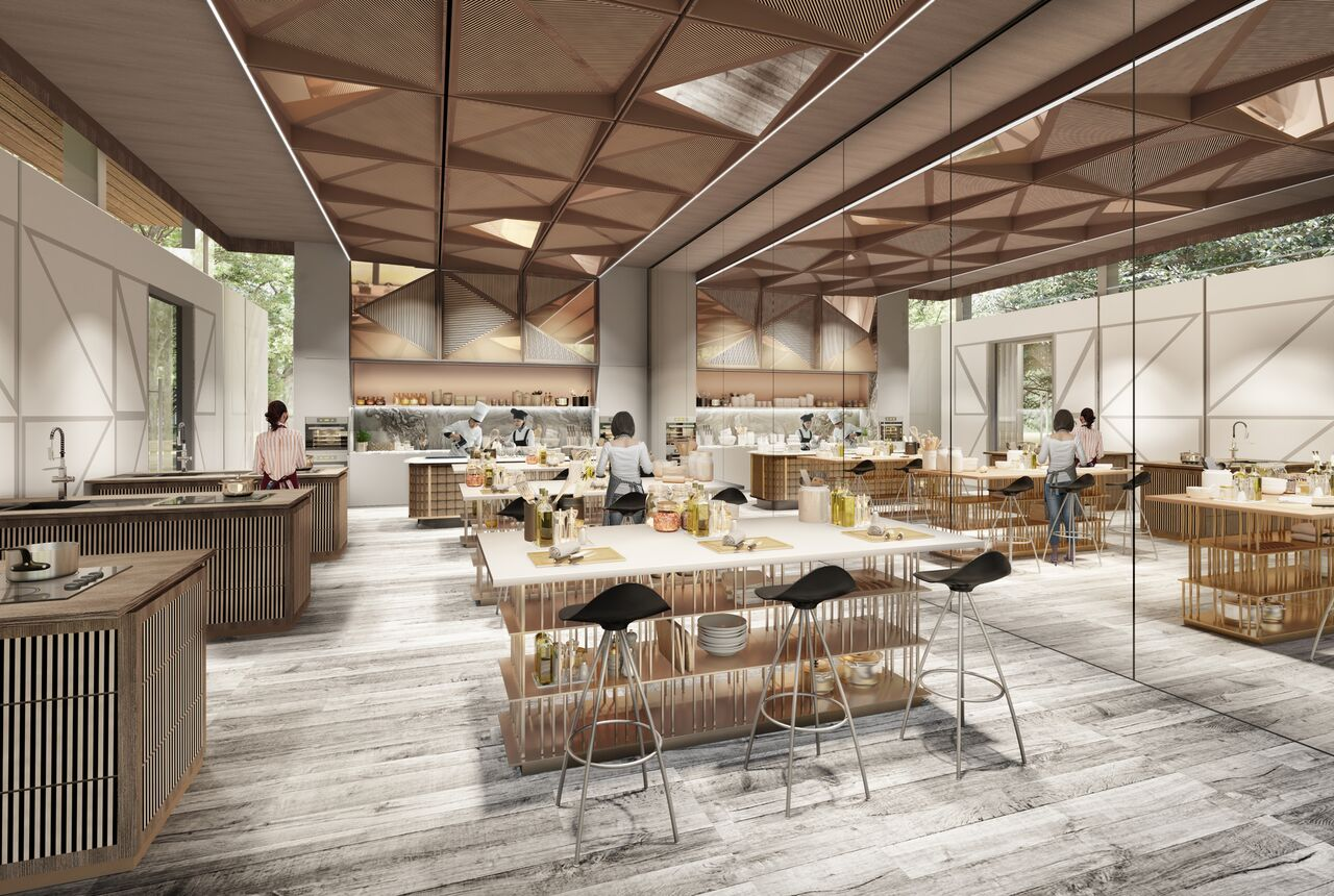 Artist's Impression . Parc Clematis Facilities Kitchen