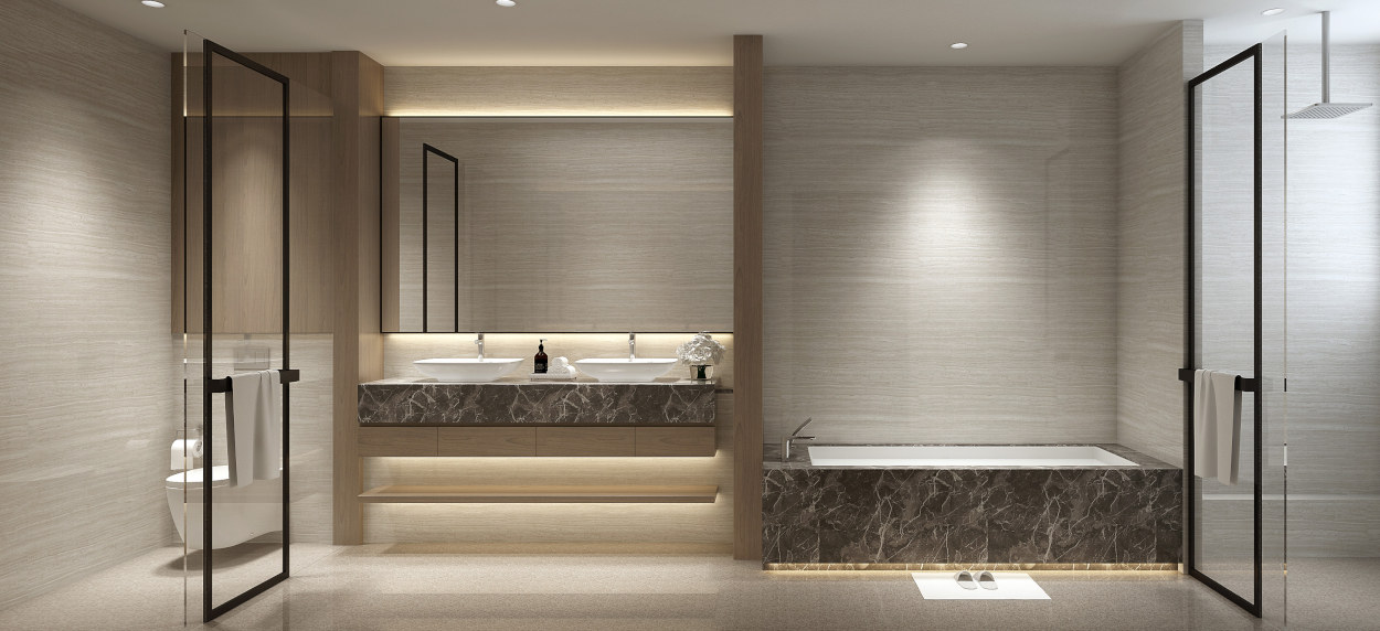 Park Wood Collection Showflat Bathroom
