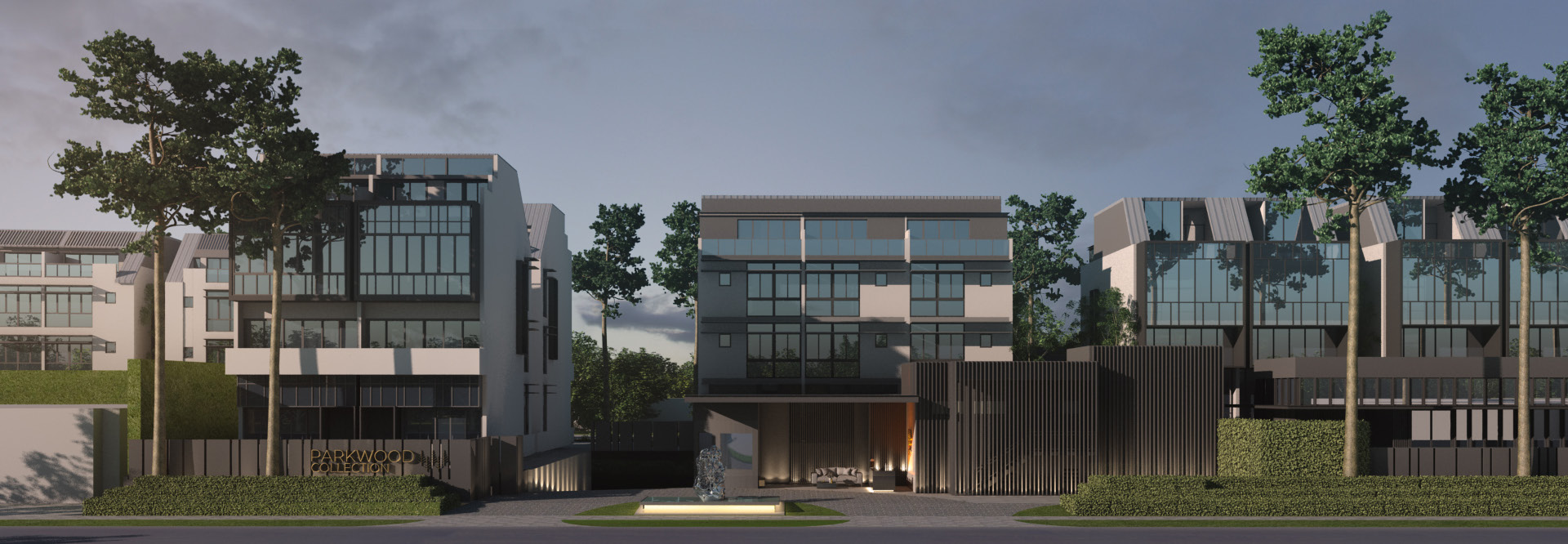 Artist's Impression . Parkwood Collection Singapore