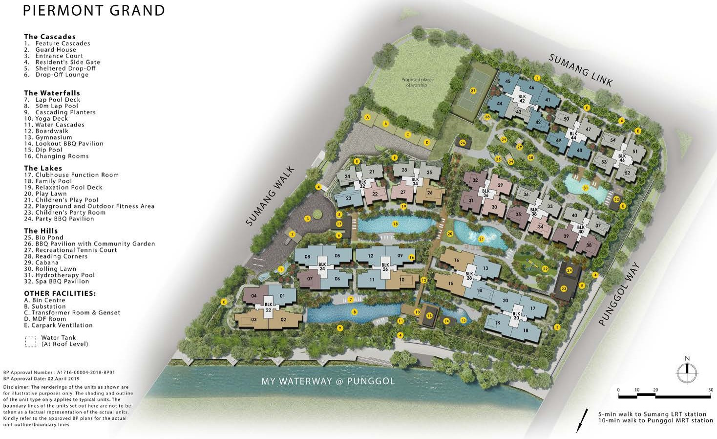 The Piermont Grand Site Plan
