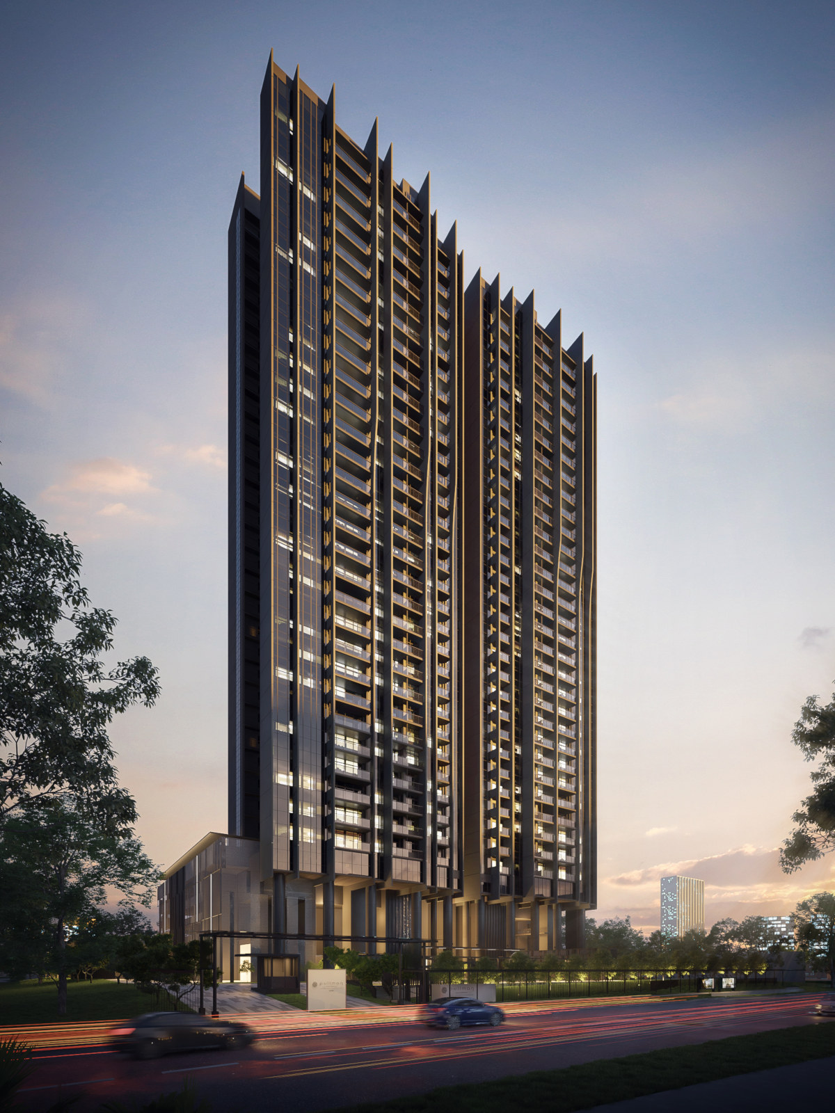 Artist's Impression . Pullman Residences Condo Tower