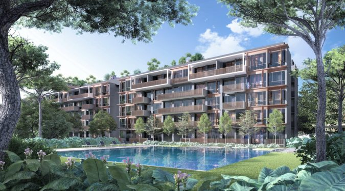 Artist's Impression . Royal Green Condominium