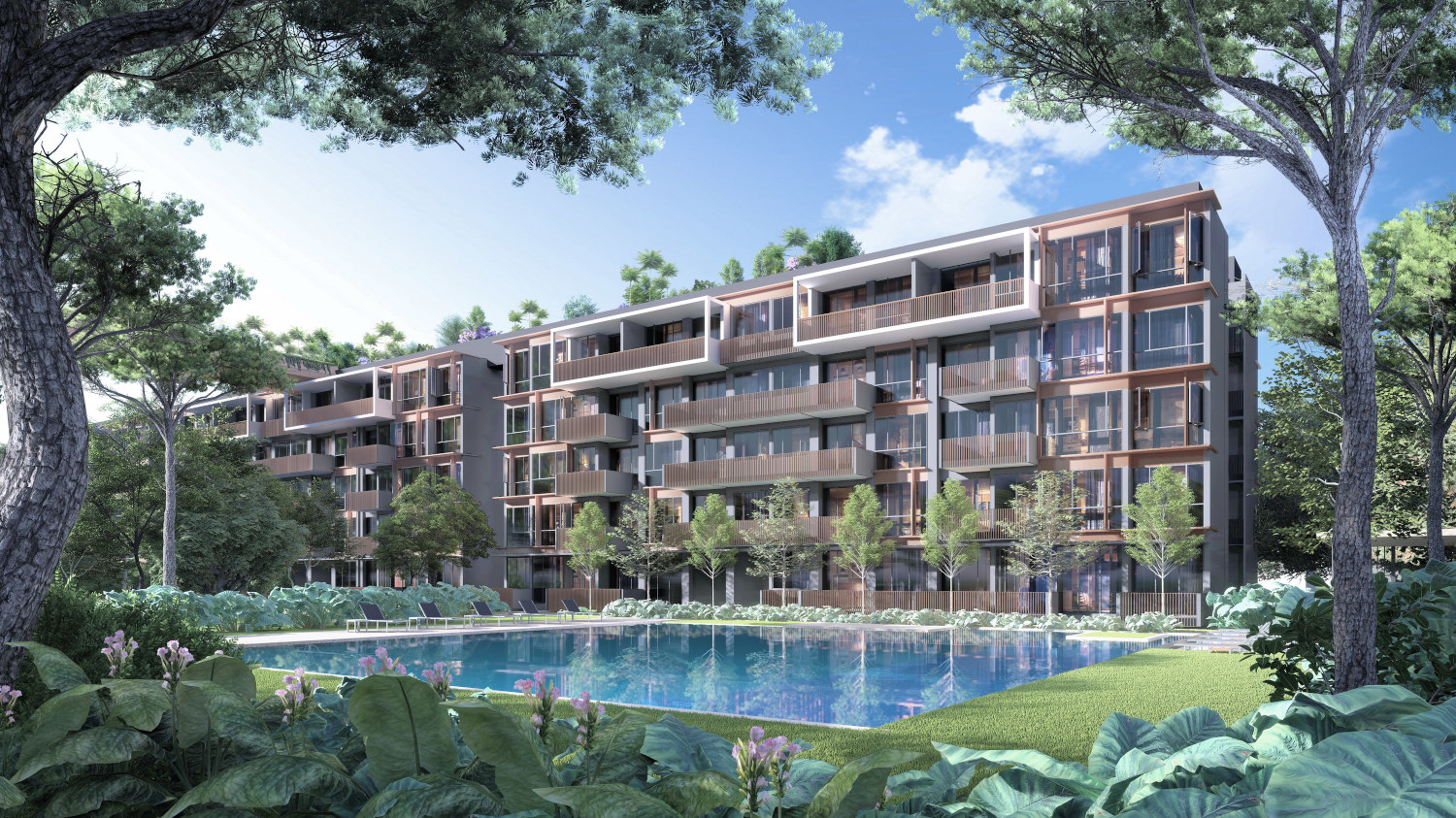 Artist's Impression . Royal Green by Allgreen