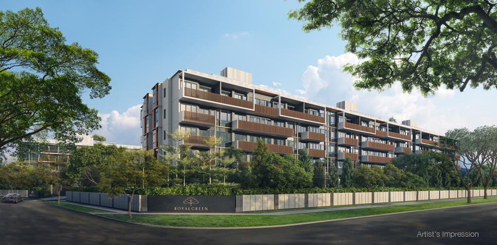 New RoyalGreen Condo @ Bukit Timah