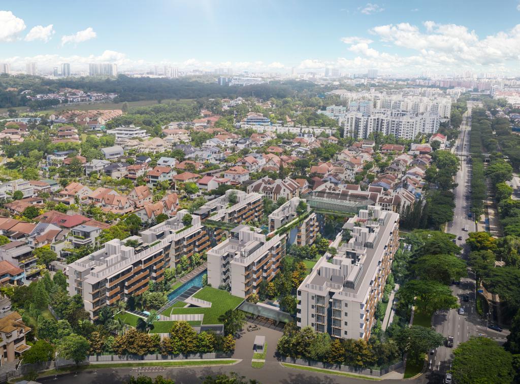 Artist's Impression . RoyalGreen Condominium Bukit Timah