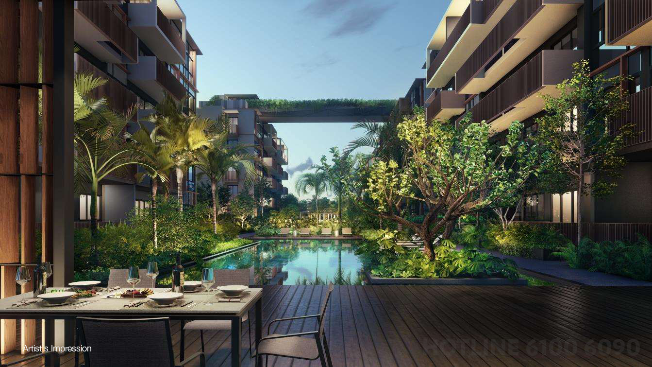 RoyalGreen Condominium . Poolside BBQ Pavilion