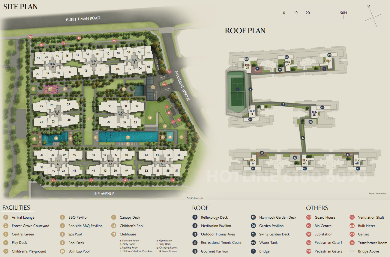 RoyalGreen Site Plans . Layouts & Facilities