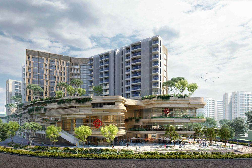 Artist's Impression . Sengkang Grand Residence Singapore