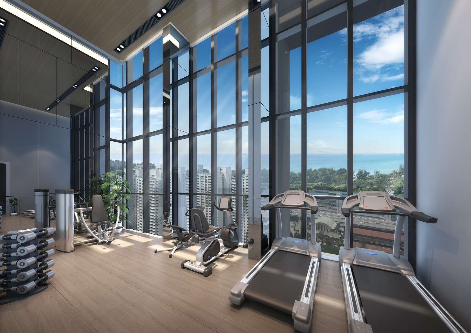Sky Everton Condo View from Gym