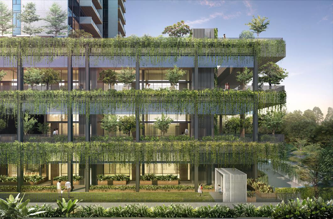 Artist Impression . Sloane Residences Ground Scraper Garden Suites