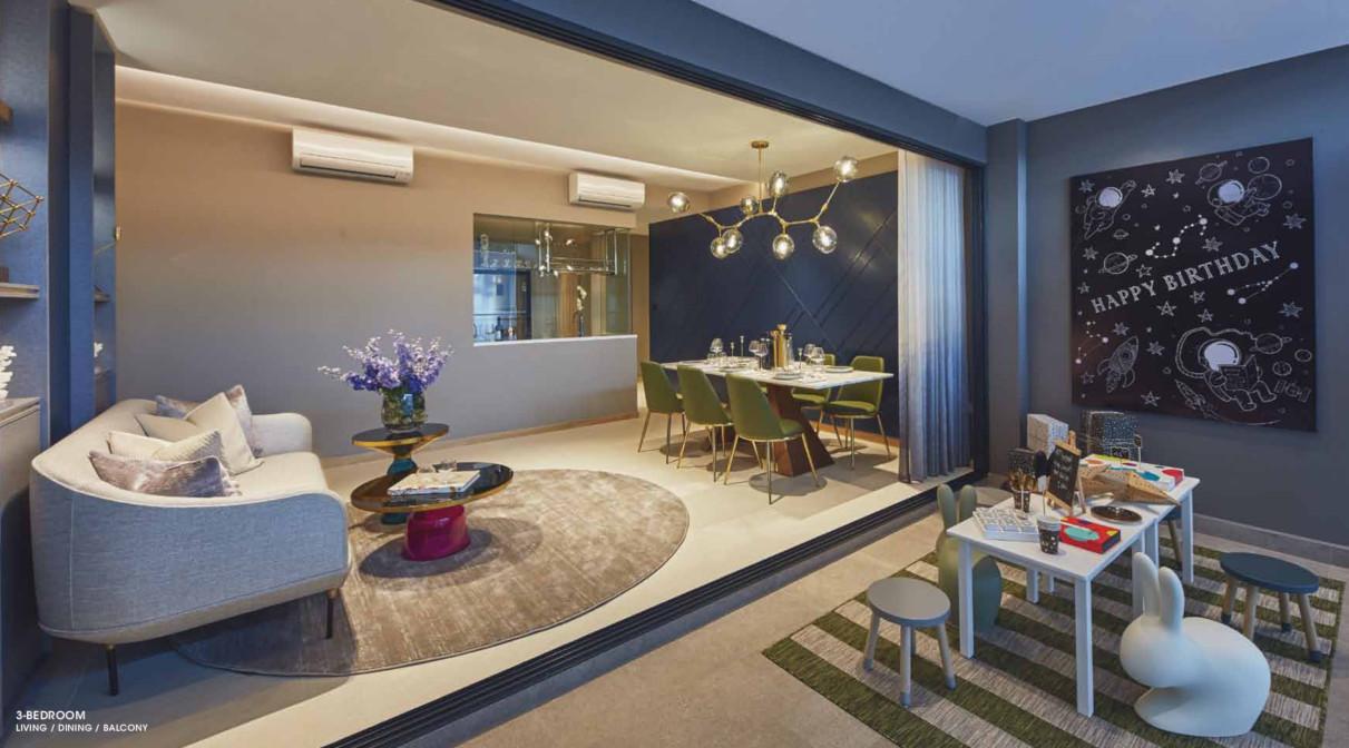 The Antares Condo Showflat . 3 Bedroom