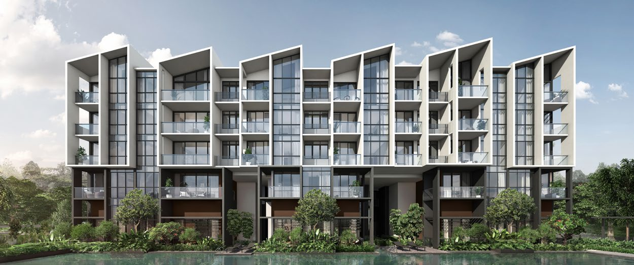 Artist's Impression . The Essence by OKP Holdings