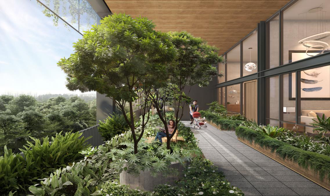 Artist Impression . The Garden Suites