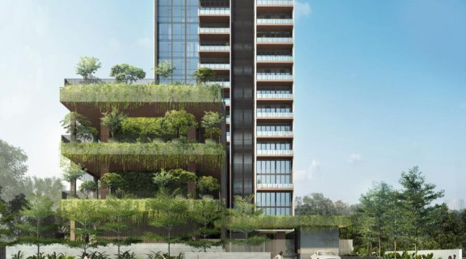 Artist's Impression . The Sloane Residences Condominium
