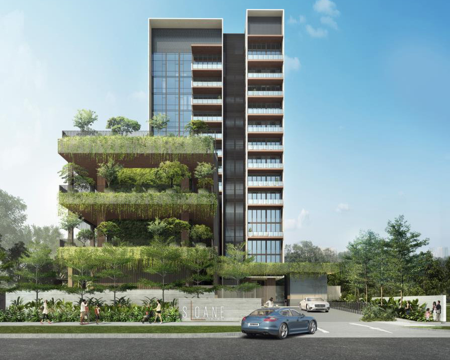 Artist Impression . The Sloane Residences Condominium