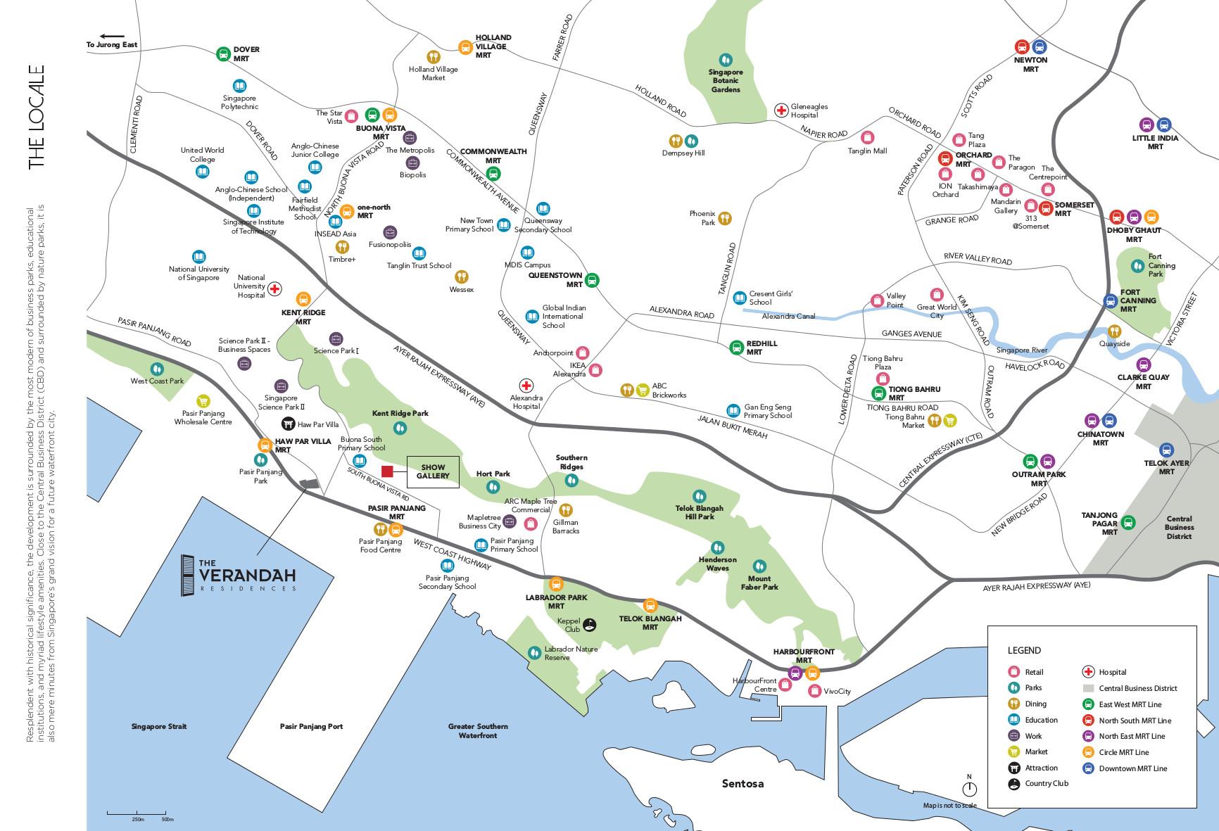 The Verandah Residences Showflat Location
